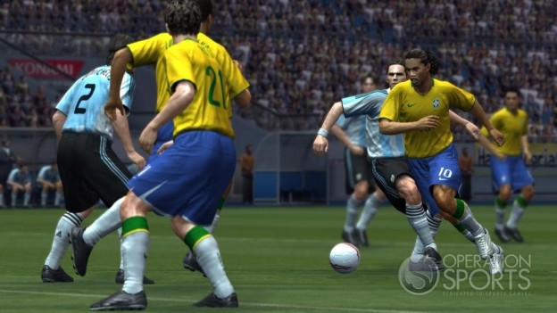 Pro Evolution Soccer 2009 Screenshot #5 for Xbox 360