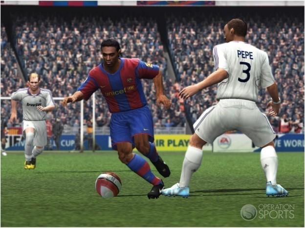FIFA Soccer 09 Screenshot #1 for PS2