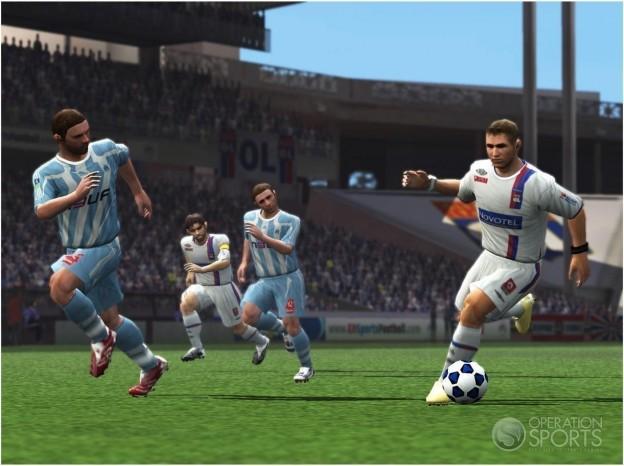 FIFA Soccer 09 Screenshot #2 for PS2