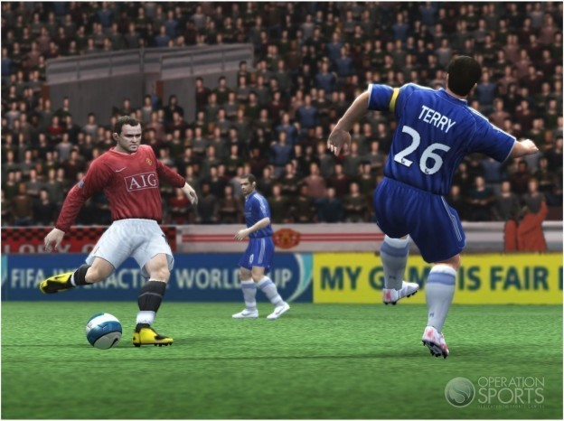 FIFA Soccer 09 Screenshot #4 for PS2