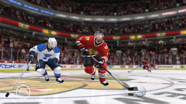 NHL 09 Screenshot #13 for Xbox 360