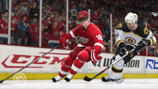 NHL 09 Screenshot #16 for Xbox 360