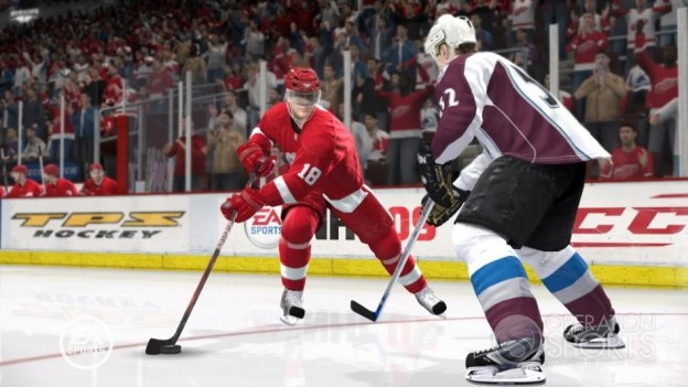 NHL 09 Screenshot #17 for Xbox 360