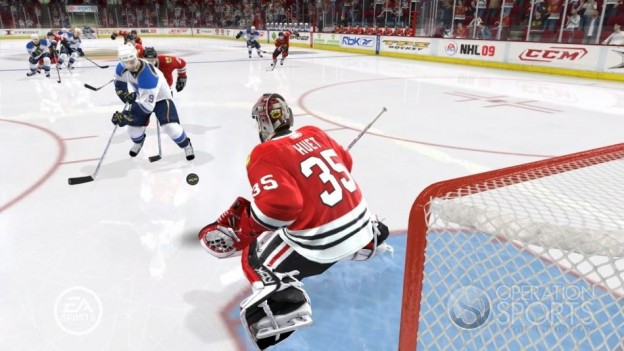 NHL 09 Screenshot #18 for Xbox 360