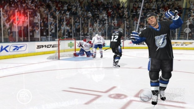 NHL 09 Screenshot #20 for Xbox 360