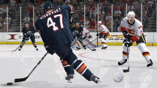 NHL 09 Screenshot #21 for Xbox 360