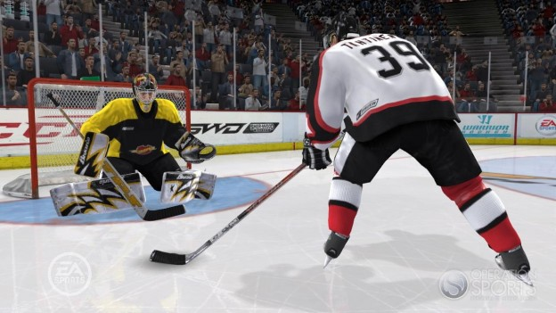 NHL 09 Screenshot #25 for Xbox 360