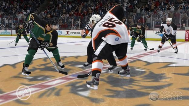 NHL 09 Screenshot #26 for Xbox 360