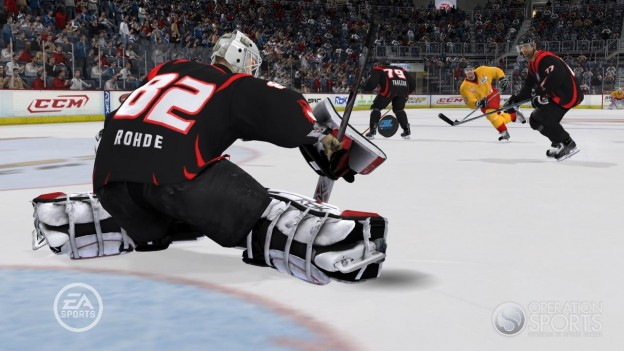 NHL 09 Screenshot #28 for Xbox 360