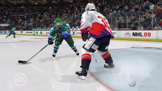 NHL 09 Screenshot #30 for Xbox 360