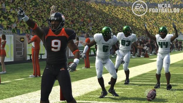 NCAA Football 09 Screenshot #10 for PS3