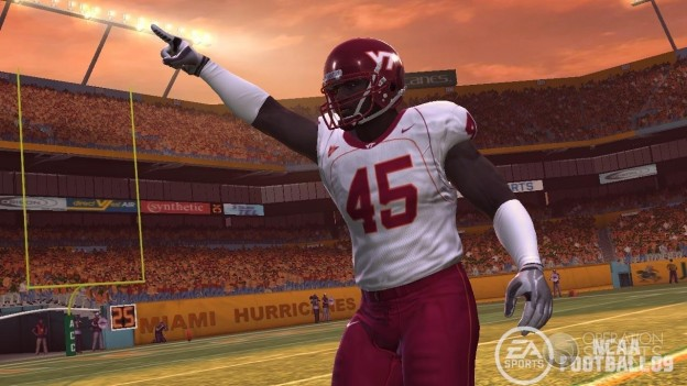 NCAA Football 09 Screenshot #11 for PS3