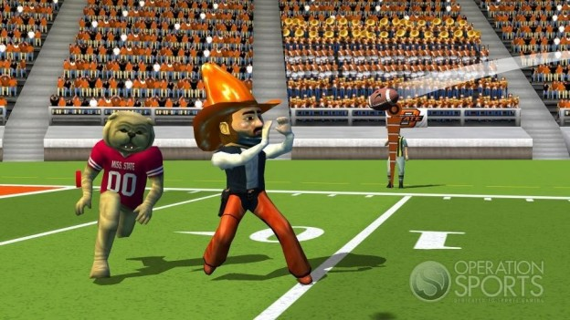 NCAA Football 09 Screenshot #1 for Wii