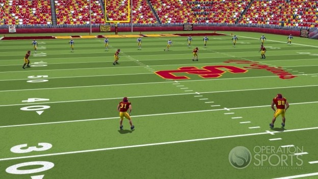 NCAA Football 09 Screenshot #2 for Wii