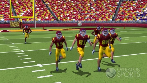 NCAA Football 09 Screenshot #3 for Wii