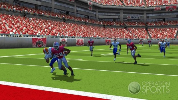 NCAA Football 09 Screenshot #4 for Wii