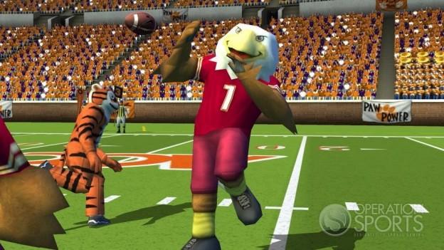 NCAA Football 09 Screenshot #5 for Wii
