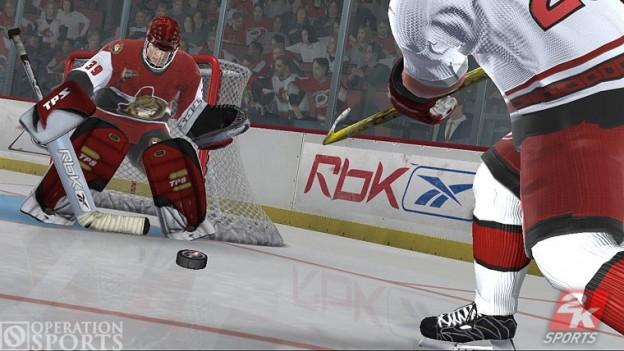 NHL 2K7 Screenshot #2 for Xbox 360