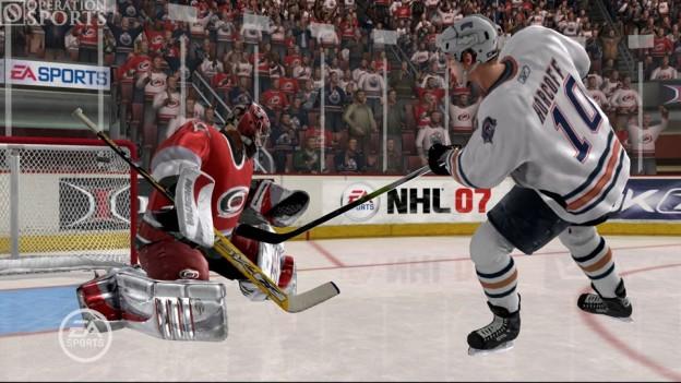 NHL 07 Screenshot #1 for Xbox 360