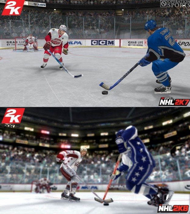 NHL 2K8 Screenshot #1 for Xbox 360
