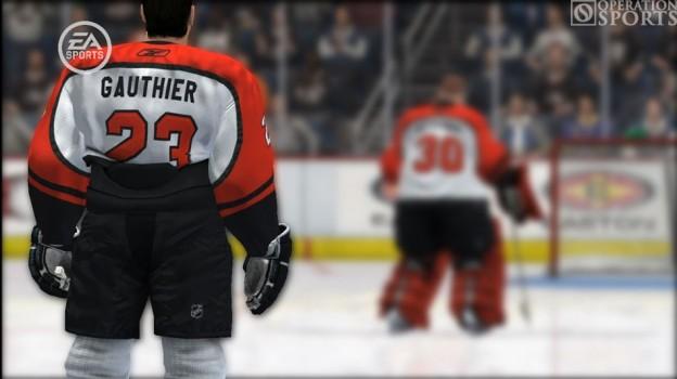 NHL 08 Screenshot #1 for Xbox 360