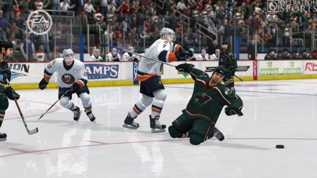 NHL 08 Screenshot #2 for Xbox 360
