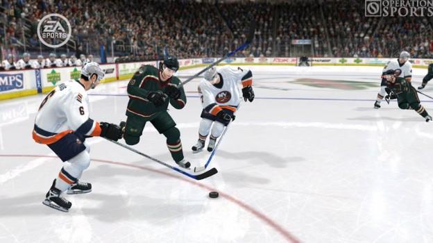 NHL 08 Screenshot #4 for Xbox 360