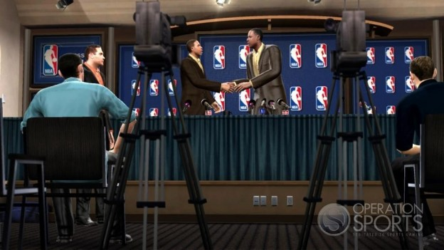 NBA 09 The Inside Screenshot #3 for PS3
