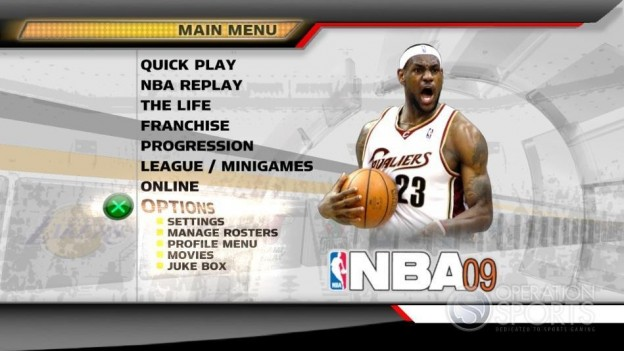 NBA 09 The Inside Screenshot #13 for PS3