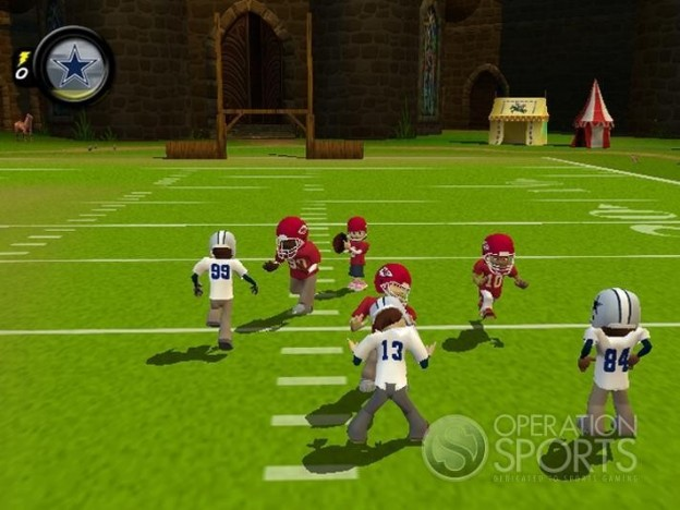 Backyard Football '09 Screenshot #1 for PC