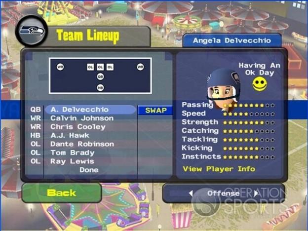 Backyard Football '09 Screenshot #9 for PC