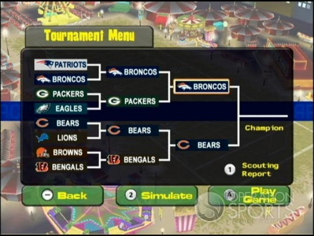 Backyard Football '09 Screenshot #20 for Wii