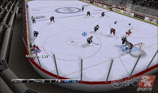 NHL 2K9 Screenshot #1 for Wii