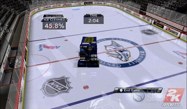 NHL 2K9 Screenshot #2 for Wii