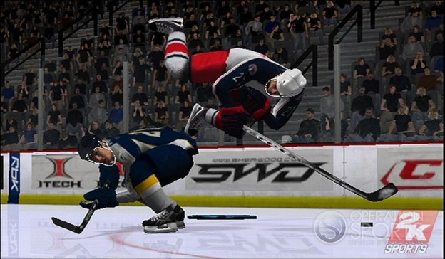 NHL 2K9 Screenshot #3 for Wii