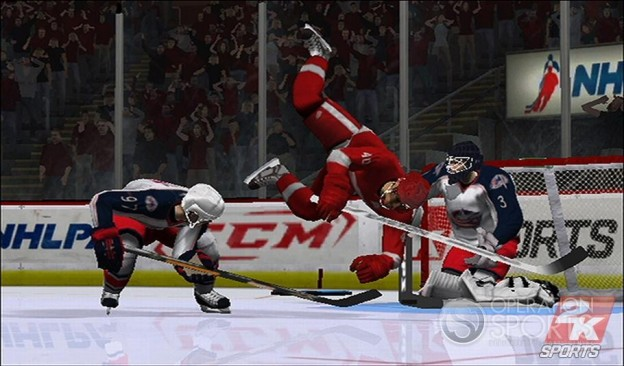 NHL 2K9 Screenshot #4 for Wii