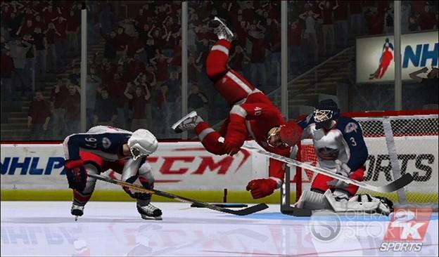 NHL 2K9 Screenshot #4 for Wii