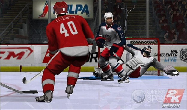 NHL 2K9 Screenshot #5 for Wii