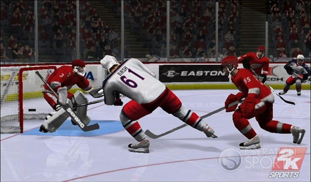 NHL 2K9 Screenshot #6 for Wii