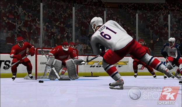 NHL 2K9 Screenshot #7 for Wii