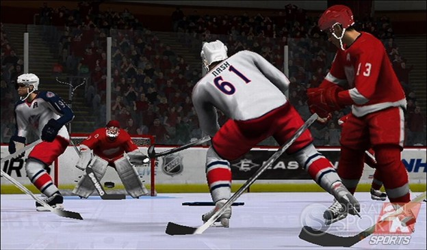 NHL 2K9 Screenshot #9 for Wii