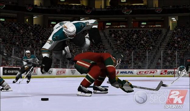 NHL 2K9 Screenshot #11 for Wii