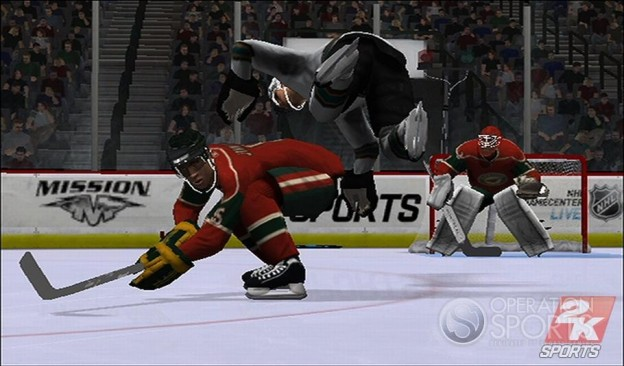 NHL 2K9 Screenshot #13 for Wii