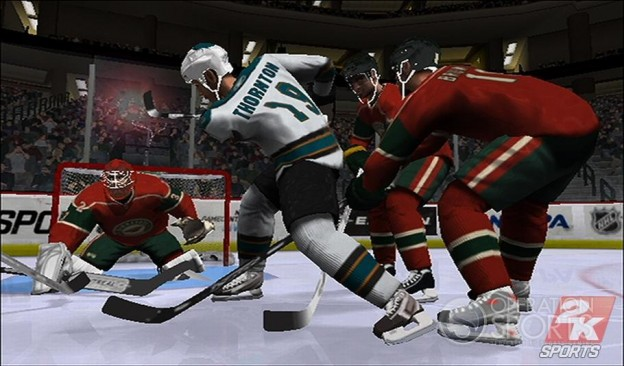 NHL 2K9 Screenshot #14 for Wii