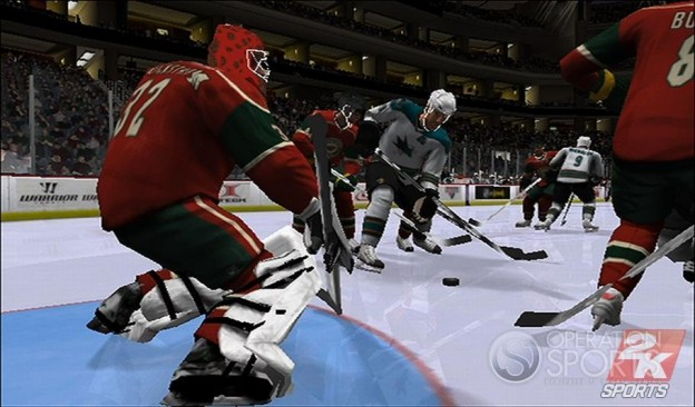 NHL 2K9 Screenshot #15 for Wii
