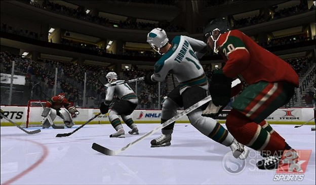 NHL 2K9 Screenshot #16 for Wii