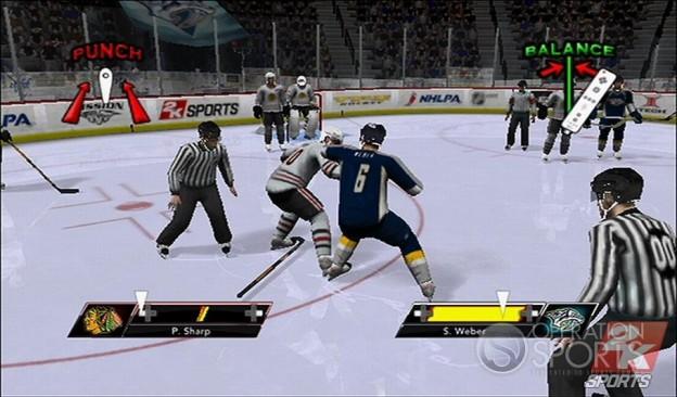 NHL 2K9 Screenshot #17 for Wii