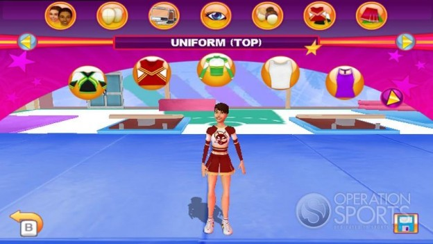 All Star Cheer Squad Screenshot #4 for Wii