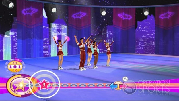 All Star Cheer Squad Screenshot #5 for Wii