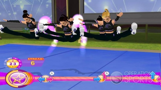 All Star Cheer Squad Screenshot #6 for Wii